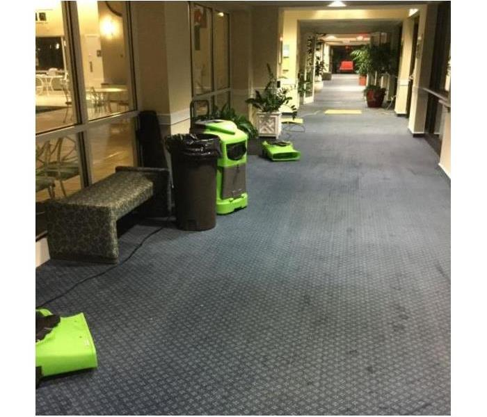 Senior Living Facility Water Damage After