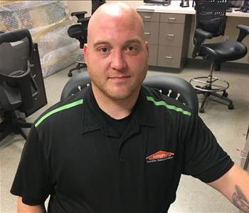 Drew Harvey is a Warehouse Manager at SERVPRO of Chesterfield