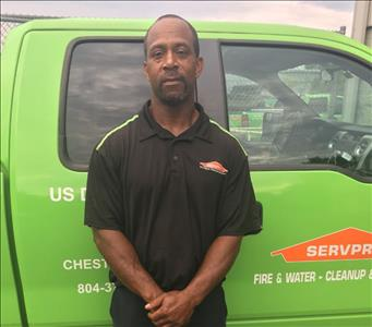 Caesar Sutton is a Crew Chief at SERVPRO of Chesterfield