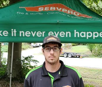 George is a Crew Chief at SERVPRO of Chesterfield