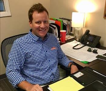 Mason Fox is the Sales Manager at SERVPRO of Chesterfield