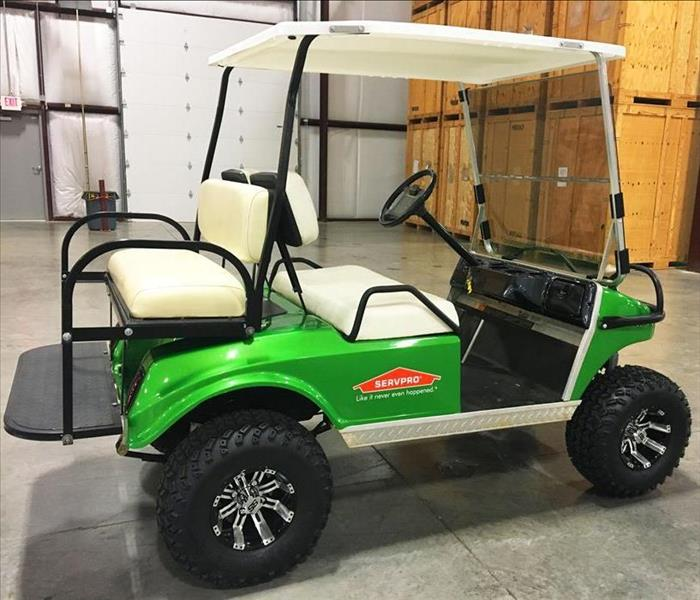 SERVPRO of Chesterfield Golf Cart