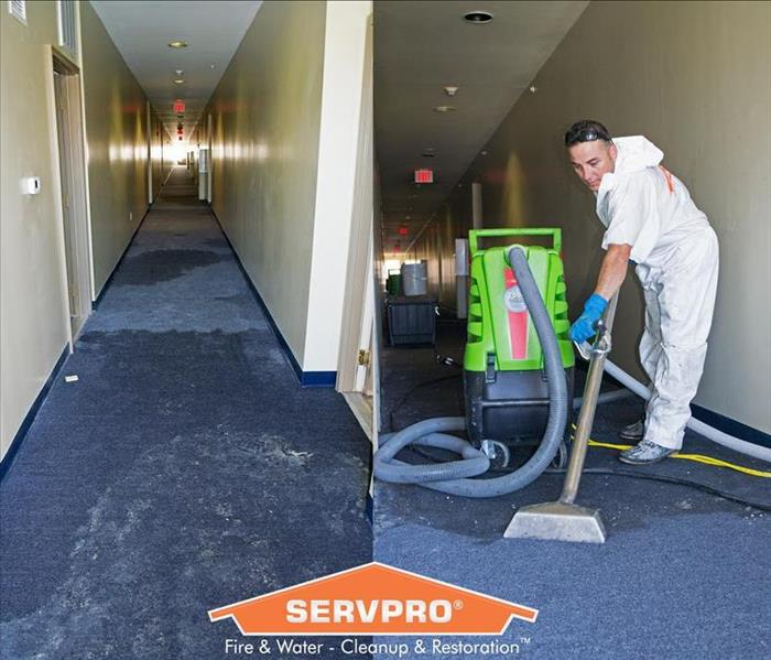 Flooded Basement In Commercial Property: SERVPRO Of Chesterfield Gallery Photos