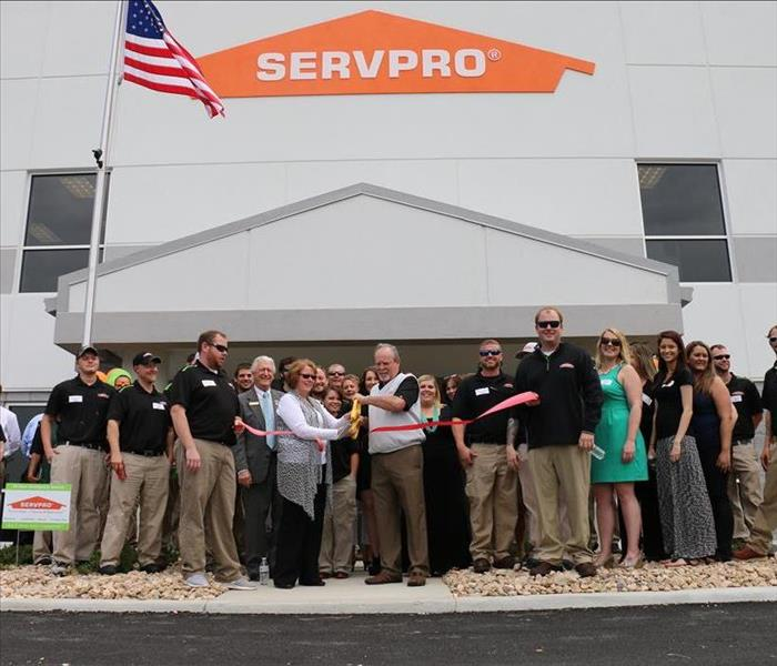team at the grand opening of our new facility